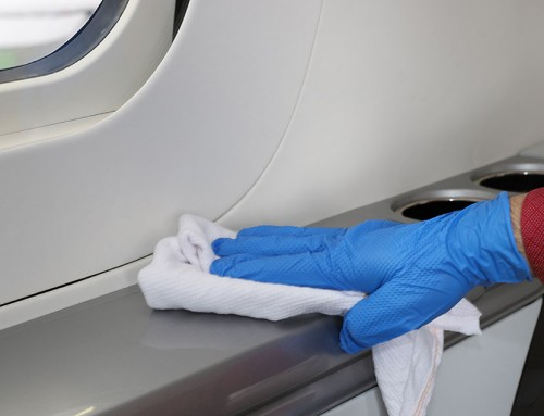 Disinfection of Aircraft Surfaces