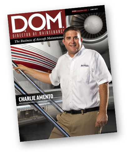 Director of Maintenance Magazine Charlie Amento