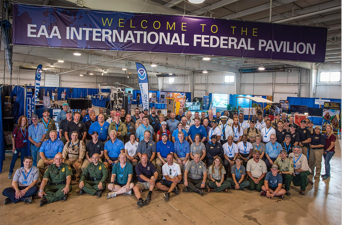 IFP Group seated at 2019 EAA Air Venture Show