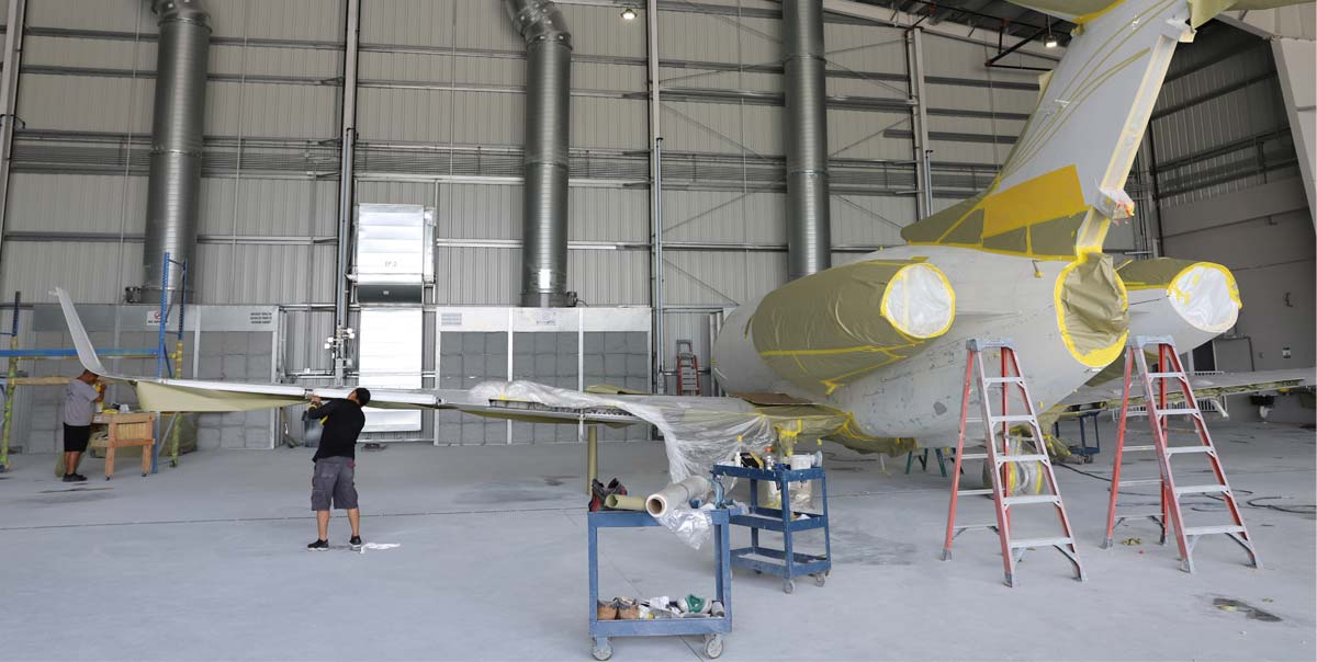 Banyan Welcomes Atlantic Jet Refinishing to the Complex