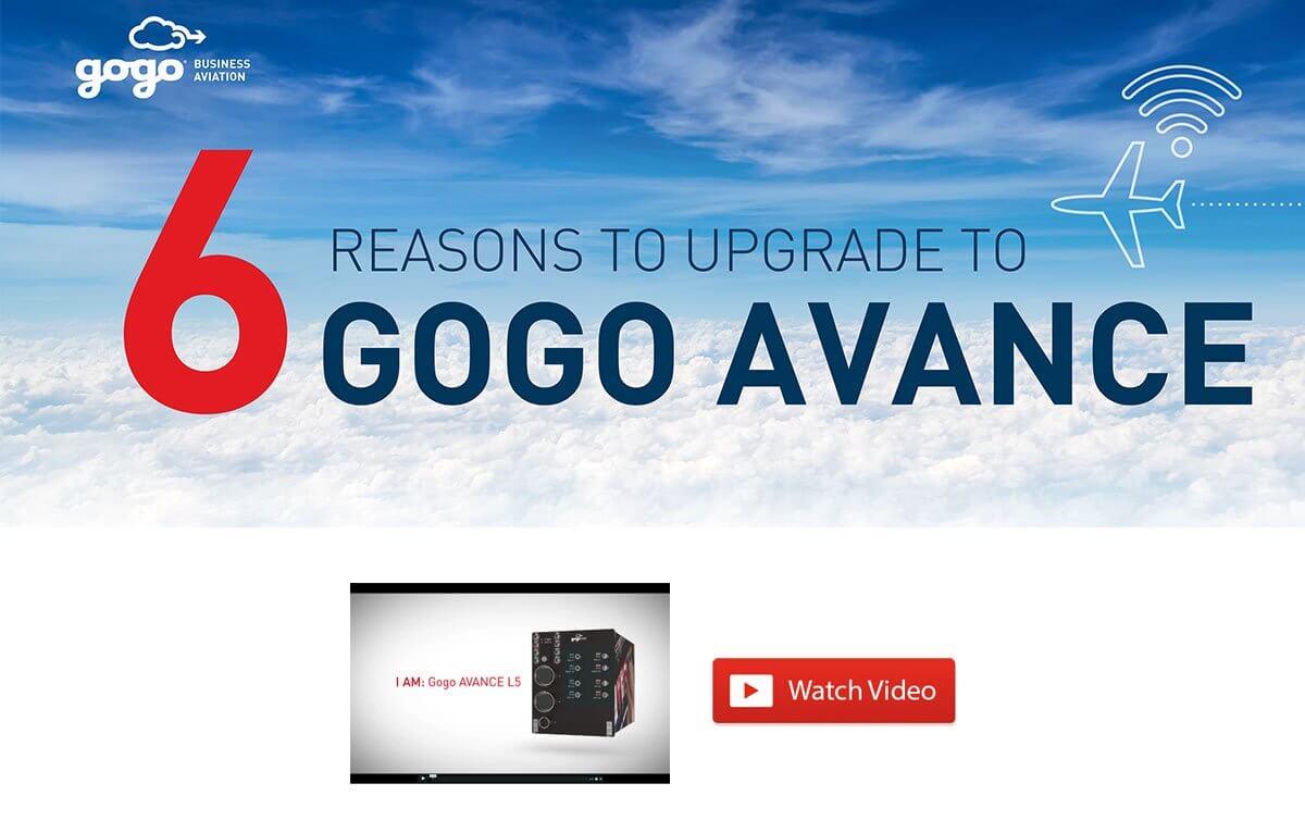 6 Reasons Upgrade Gogo AVANCE