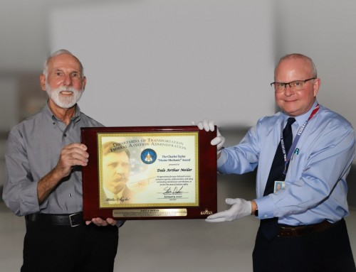 Inspector Dale Meiler Receives FAA Charles Taylor Award