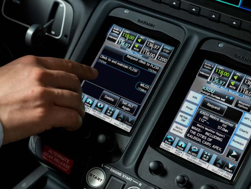 Communications Screen
